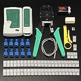 Crimper ethernet RJ45/RJ11/RJ12/Cat 5,Roeam crimping tool set crimpadora ethernet Cable Stripper Cable Tester