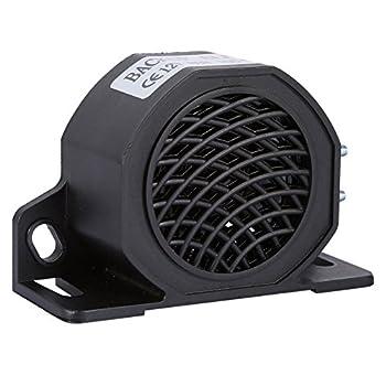 12V-80V 105 DB Universal Car Horn Waterproof Backup Reverse Beeper Warning Alarm for Vehicles Trucks Heavy Equipment