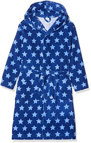 Sanetta Jungen Bathrobe Bademantel, Blau (Caribian Blue 50300), 116