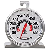 AcuRite 00620A2 Stainless Steel Oven Thermometer, 1