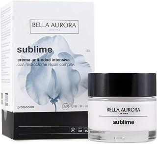 Bella Aurora Sublime Día Crema Anti-Edad Intensiva para Mujer con Microbiome Repair Complex SPF 20 Tratamiento Facial para...