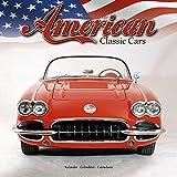 Classic Car Calendar - Muscle Car Calendar - American Muscle Cars Calendar - Calendars 2020 - 2021 Wall Calendars - Car Calendar - American Classic Cars 16 Month Wall Calendar by Avonside
