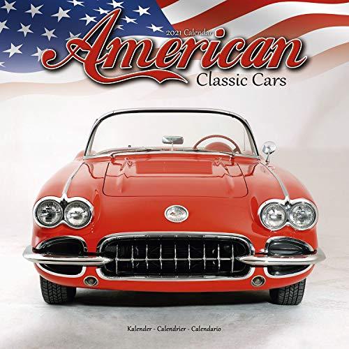 American Classic Cars - Amerikanische Oldtimer 2021: Original Avonside-Kalender [Mehrsprachig] [Kalender] (Wall-Kalender)