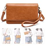 nuoku Women Small Crossbody Bag Cellphone Purse Wallet with RFID...