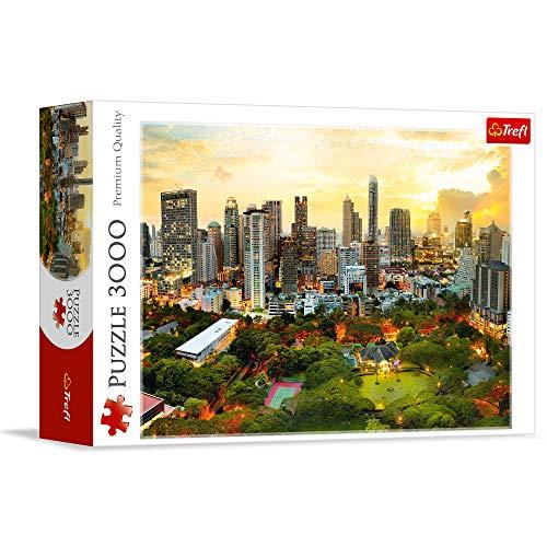 Puzzle Zachód slonca w Bangkoku 3000