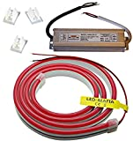 12V / 230V (Netzteil) LED Streifen Stripe Licht Unterbankbeleuchtung Saunabeleuchtung Saunalampe (warmweiß, 5m - 15,99€/m)