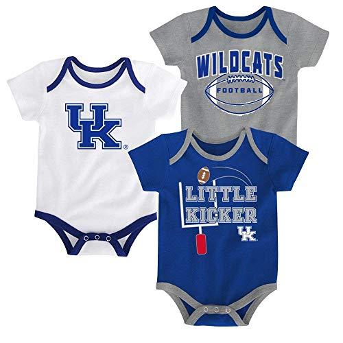 Outerstuff Kentucky Wildcats 3 Points Baby/Infant 3 Piece Creeper Set 3-6 Months