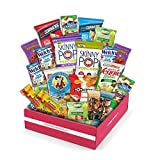 Snack Box Gluten Free Healthy Snacks Care Package (20 Count) for College Students, Exams, Father's Day, Military, Finals, Office and Gift Ideas. Chips, Popcorn, and granola Bars.