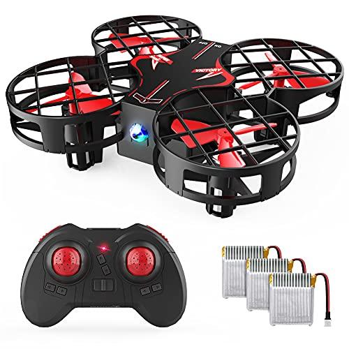 H823H Mini Drone per Bambini, Funzione Lancia & Vola, 3D Filp, Quadricottero RC Funzione Hovering, Velocità Regolabile, modalità Headless, Buon Regalo di Natale per Bambini