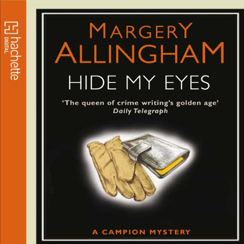 Hide My Eyes audiobook cover art