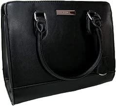 New Nine West Logo Purse Crossbody Hand Bag Satchel You & Me Black Silver