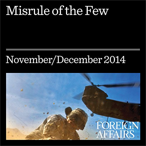 Misrule of the Few audiobook cover art