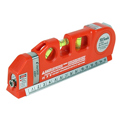 TBTeek Multipurpose Laser level kit, Laser Measuring Tape,...