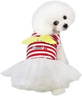 Xmiral Gonna Cani Abiti Vestiti Animale Domestico Cucciolo #529470