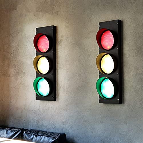 WHEEJE Lámpara de Pared Nórdica, Loft Industrial Style Restaurant Wall Light Study Suric Light Designer Bar Coffee Shop Designer LED Lámpara de pared