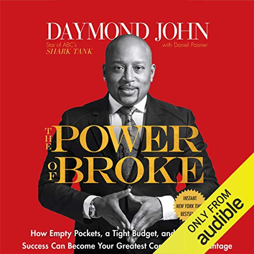 The Power of Broke audiobook cover art