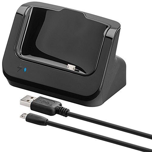 Goobay 43435 Smartphone Handy-Dockingstation - Handy-Dockingstationen (Smartphone, HTC, One (M7), Micro-USB, 0,5 A)