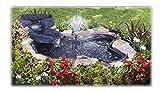 SICCE - Kit estanque flexible HappyPond 275 litros + cascada....