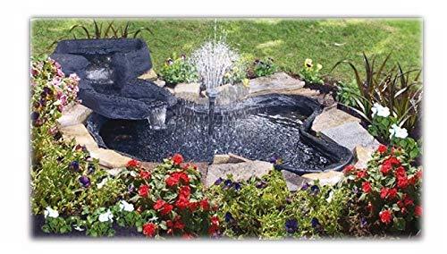 Kit de estanque prefabricado con cascada de Sicce