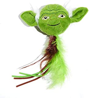 Silver Paw Star Wars Yoda Cat Toy with Catnip