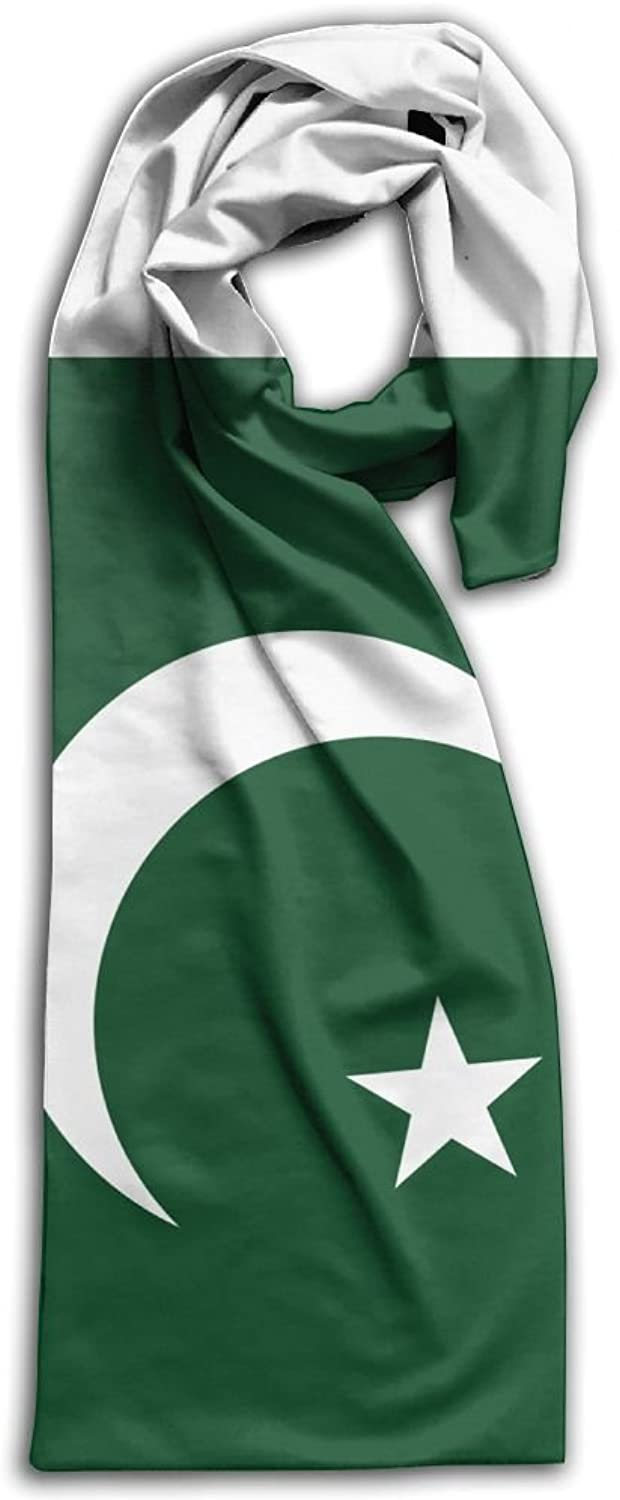 HFIUH5 Flag Of Pakistan Printing Scarf Warm Soft Fashion Scarf Shawl For Spring Autumn Winter Adult