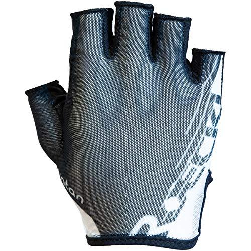 Roeckl Ilova Fahrrad Handschuhe kurz schwarz/weiß 2020: Größe: 9