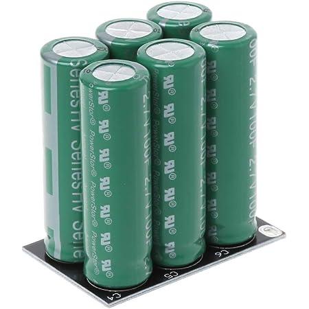 Yinuiousory 6pcs 2 7v 120f Super Kondensator Zweireihig Elektronik
