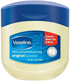 Vaseline 100% Pure Petroleum Jelly Skin Protectant 3.75 oz (Pack of 10)
