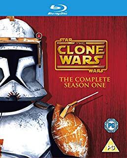 Star Wars: The Clone Wars - The Complete Season One [Blu-ray] [2009] (B0028BAWWK) | Amazon price tracker / tracking, Amazon price history charts, Amazon price watches, Amazon price drop alerts