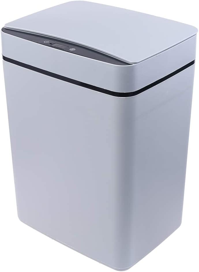 Beerty Touchless Trash Can - Super-cheap Moti Rectangular Infrared Smart Cheap mail order sales 15L