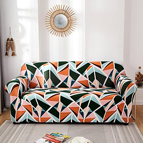 ASCV Afervor Europe Style Funda de sofá elástica Tight Wrap Funda de sofá elástica Universal para sofá seccional Individual Doble de Tres Asientos A9 1 Plaza