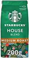 Starbucks House Blend Medium Roast Ground Coffee Bag, 200 gm