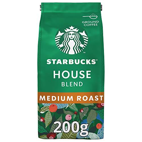 Paradise Starbucks House Blend Medium Roast Ground Coffee 200gm