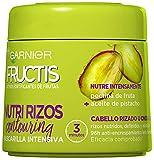 Garnier Fructis Nutri Rizos Contouring Mascarilla Intensiva Fortificante que Nutre y Define, con Pec...