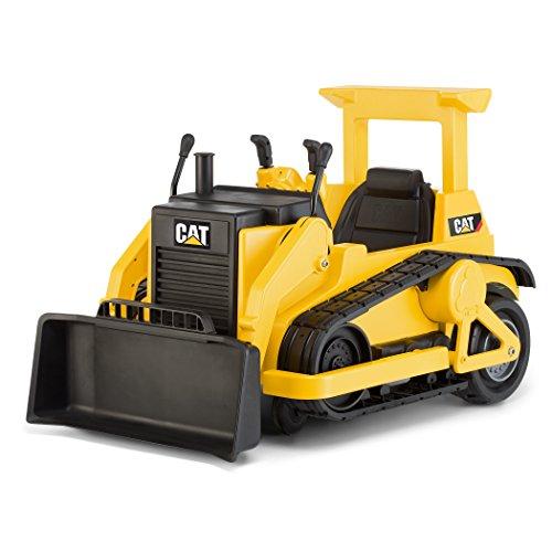 Kid Trax CAT Bulldozer 12V Battery-Powered Ride-On Toy (Renewed)