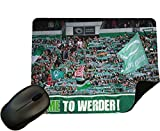 Werder Bremen Fans - Crowd Mouse Mat/Pad - By Eclipse Gift Ideas