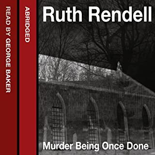 Couverture de Murder Being Once Done