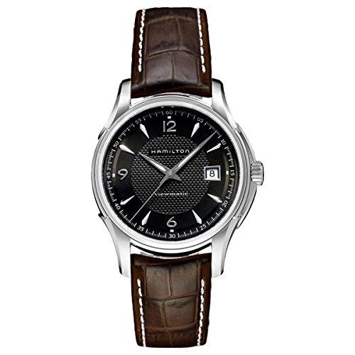 Hamilton Herren-Armbanduhr XL Analog Automatik Leder H32515535
