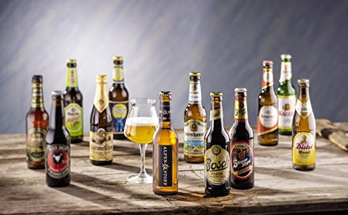 Kalea | ausgewählte Bierspezialitäten im Probierpaket | Biere von Privatbrauereien | Geburtstags-Geschenk für Männer (12 x 0,33 l) - 2