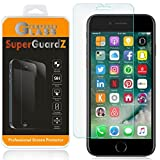 [2-Pack] For iPhone SE (2nd Gen, 2020) / iPhone 8 / iPhone 7 Screen Protector Anti Blue Light Tempered Glass [Eye Protection], SuperGuardZ, 9H, 0.3mm, Anti-Scratch, Anti-Bubble [Lifetime Replacement]