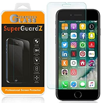 [2-Pack] For iPhone SE  2nd Gen 2020  / iPhone 8 / iPhone 7 Screen Protector Anti Blue Light Tempered Glass [Eye Protection] SuperGuardZ 9H 0.3mm Anti-Scratch Anti-Bubble [Lifetime Replacement]
