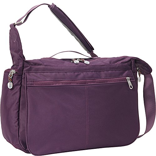 eBags Kalya Town Square 2.0 Crossbody Bag with RFID Security (Aubergine)