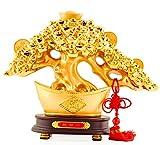 Wenmily Large Size Feng Shui Money Tree Wealth Porsperity Figurine, Best Housewarming Congratulatory Gift