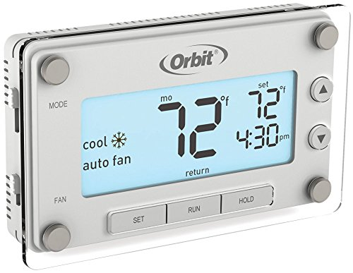 Orbit 83521 Clear Comfort Programmable Thermostat with Large, Easy-to-Read Display