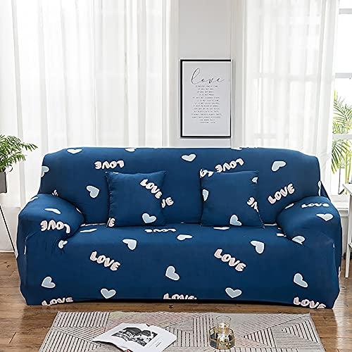 Funda elástica para sofá, Funda de sofá para Sala de Estar, Funda elástica para sofá, Funda para Muebles, Funda para sofá elástica, 1/2/3/4 plazas A30, 1 Plaza