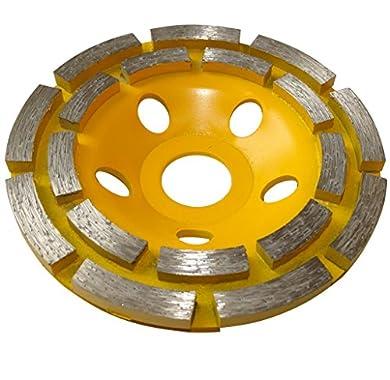 Foto di Aerzetix - Disco diamantato a levigare 110 mm 22.23 mm per smerigliatrice 115 mm cemento pietra mattone .