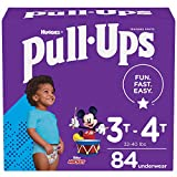 Pull-Ups Boys' Potty Training Pants Training Underwear Size 5, 3T-4T, 84 Ct