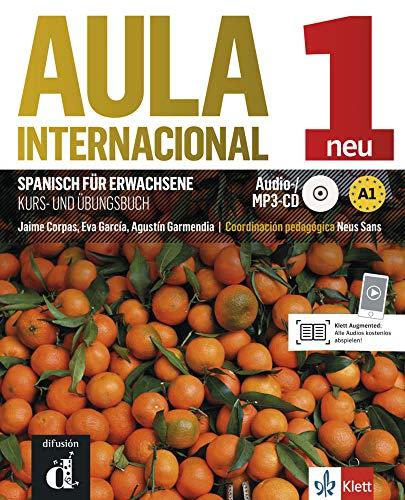 Aula internacional nueva edición 1: Kurs- und Übungsbuch + MP3-CD: Nueva edición. Kurs- und Übungsbuch + MP3-CD