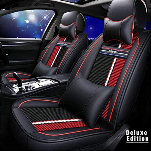 WANLING Fundas & Almohada para Asientos de Coche para Volvo XC40 XC60 XC70 Durable Lujo Cuero De