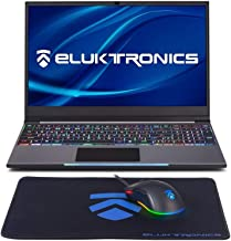 2019 Black Cyber Holiday Special ~ Eluktronics MECH-15 G2Rx Slim & Light NVIDIA GTX 1660Ti VR Ready Gaming Laptop with Mechanical RGB Keyboard Intel i7-9750H 15.6